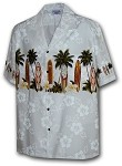 212-3466 White Pacific Legend Boys Border Shirt